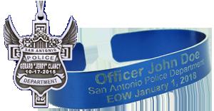 leo & firefighter memorial badges