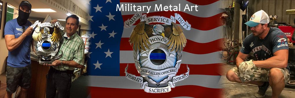 Military Metal Art