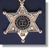 Bibb County Badge #2