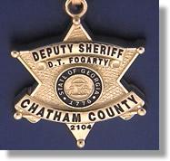 Chatham County Deputy Sheriff