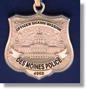 Des Moines Police Officer