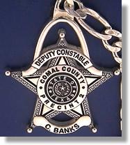 Deputy Constable Keychain #1