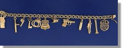 PD Charm Bracelet Gold