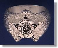 Police Badge Ring #1