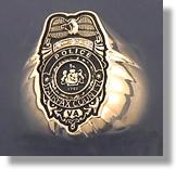 Police Badge Ring #11