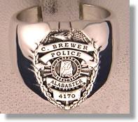 Police Badge Ring #2