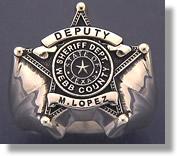 Deputy Badge Ring #4