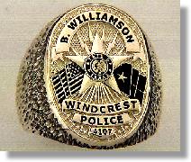 Police Badge Ring #5