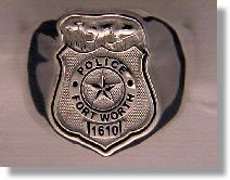 Police Badge Ring #9